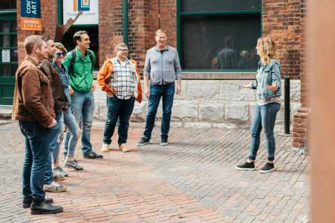 Toronto: Distillery District Walking Tour