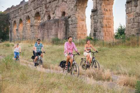Rome: Appian Way and Aqueducts Park Private Bike Tour