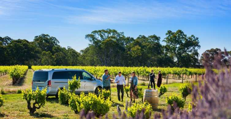 Adelaide: Boutique Barossa Kleingruppen-Weintour mit Mittagessen