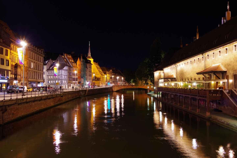 Straßburg: 2,5-stündige Fahrradtour am Abend