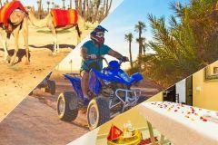 De Marraquexe: passeio de camelo, moto 4 e viagem de um dia inteiro no spa