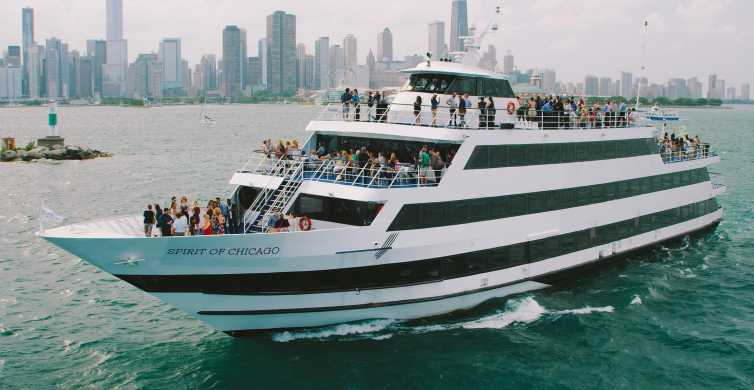 Chicago: Lake Michigan Buffet Brunch, Lunch or Dinner Cruise