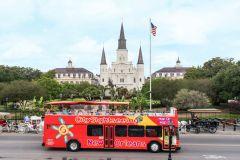 Nova Orleans: Circuito de Ônibus Turístico Hop-on Hop-off