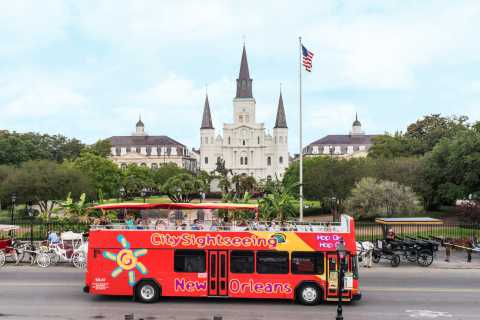 New Orleans: 1 eller 3 dages hop-on hop-off-busbillet