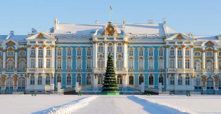 St Petersburg Winter Highlights Small Group Tour