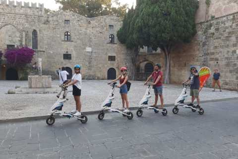 Rhodes: Explore the New and Medieval City on Trikkes
