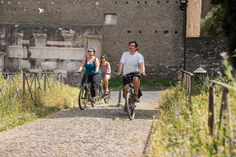 Rome: Appian Way 3-Hour Private Bike Tour