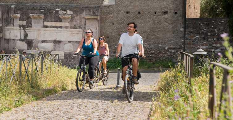 Rome: Appian Way 3-Hour Private Bike Tour