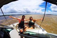 Manaus: Excursão de Lancha pelo Rio Amazonas com Almoço