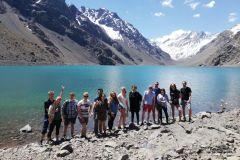 Saindo de Santiago: Laguna del Inca e Vinícola San Esteban