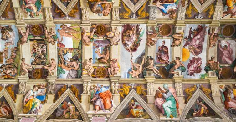 Museus do Vaticano para grupos pequenos e tour de São Pedro em russo