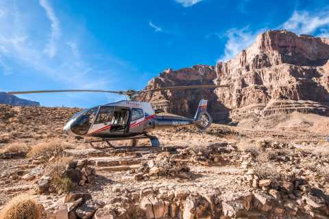 Las Vegas: Grand Canyon West Tour + Helicopter & Boat Ride