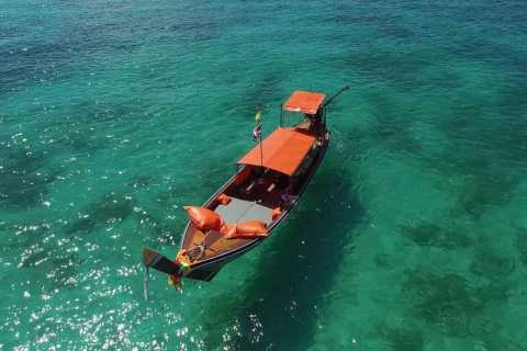 Krabi: Private Luxury Long Tail Boat to the 4 Islands