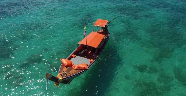 Krabi: barca di lusso privata a coda lunga per le 4 isole
