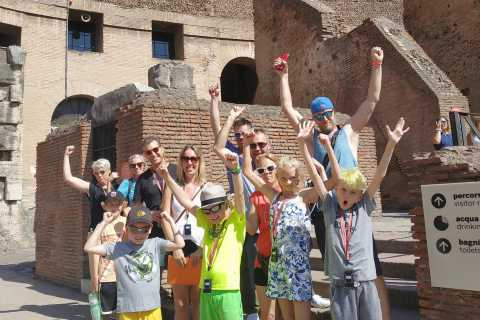 Colosseum and Ancient Rome Family Tour for Kids