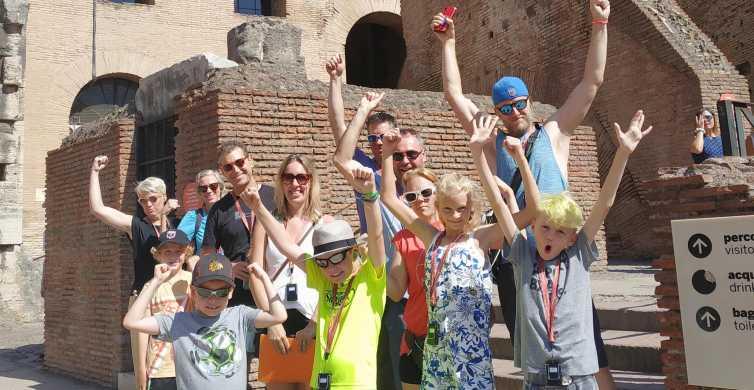 Kolosseum und antikes Rom: Familientour für Kinder