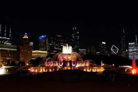 Chicago: tour nocturno de dos pisos con techo descubierto de 1.5 horas