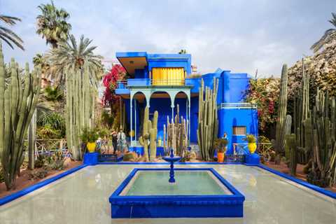 Majorelle Garden and Palmeraie Camel Ride Tour