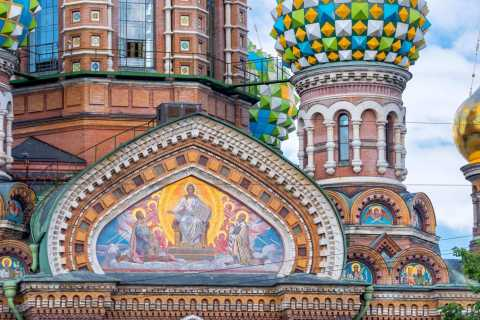Hermitage Museum and Church on Spilled Blood Guided Tour