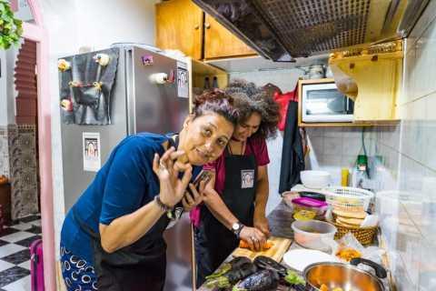 Rabat: aula de culinária em uma casa de família