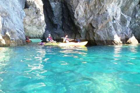 From Sesimbra: Arrábida Natural Park Kayak and Caves Tour