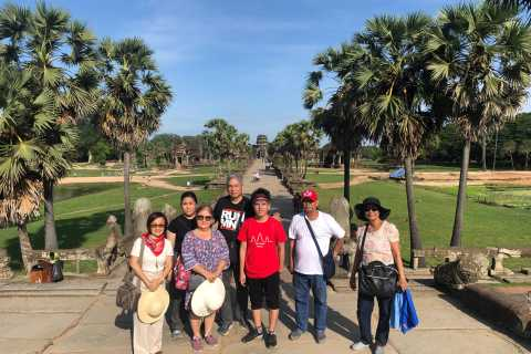 Siem Reap: Angkor Wat Private 1-Day Tour with Banteay Srey