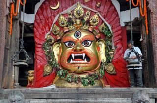 Kathmandu Sightseeing mit der Rikscha