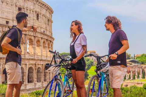 Rome: Easy Bike Tour with a Local Guide