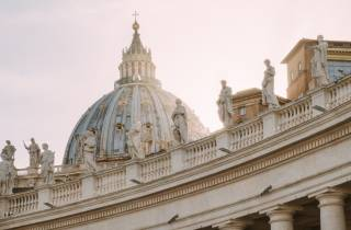Vatikanstadt: Basilika-Besteigung und optionale Krypta-Tour