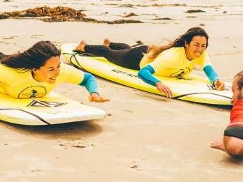 La Jolla: 1,5-stündiger Surfkurs