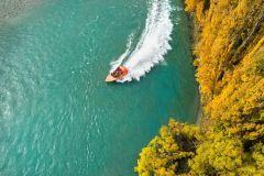 Aventura de barco a jato no rio Kawarau de 25 minutos ou 1 hora em Queenstown