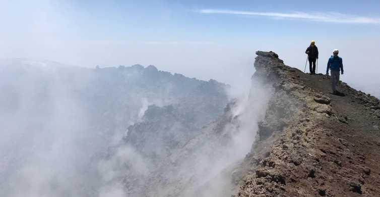 De Etna: kabelbaan, jeep en wandeltocht naar de top