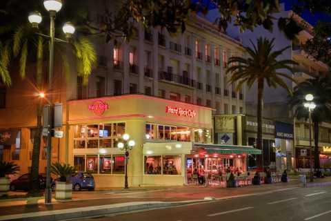 Niza: comida sin colas en el Hard Rock Café