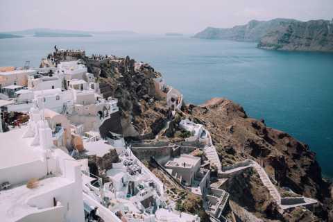 From Naxos: Full-Day Boat Trip to Santorini