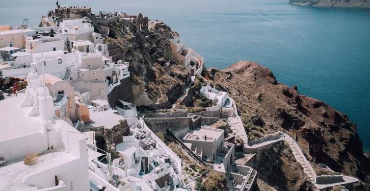 From Naxos: Full-Day Boat Trip to Santorini