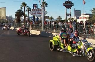 Las Vegas: Strip-Tour auf einem Luxus-Trike von Rewaco
