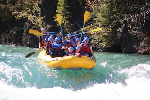 Banff: Afternoon Kananaskis River Whitewater Rafting Tour