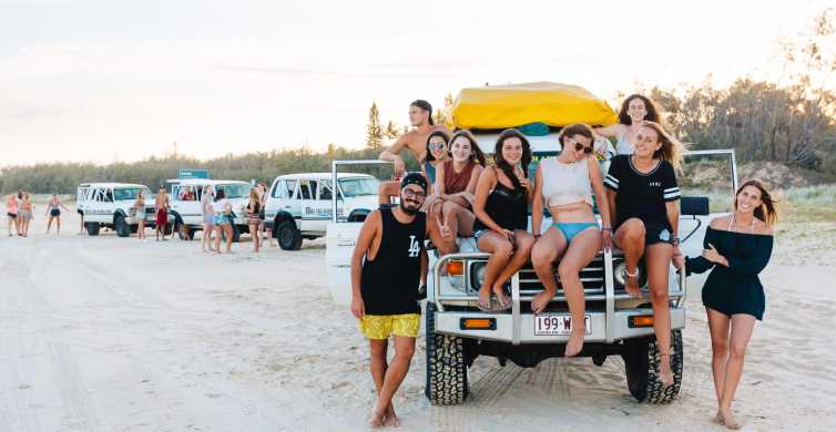 From Rainbow Beach: 3-Day Fun Filled Fraser Island Tour
