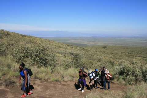 Desde Nairobi: senderismo de día completo en el monte Longonot