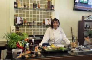 Bangkok: Thai-Kochkurs im Restaurant Blue Elephant