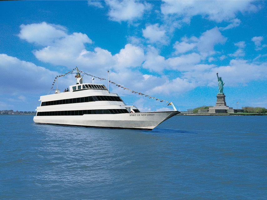 New York: Buffet Lunch or Dinner Cruise from New Jersey