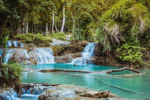 Luang Prabang: Roundtrip Shared Minivan to Kuang Si Falls