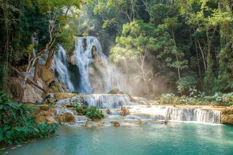 Luang Prabang: Guided Tour of Kuang Si Waterfall by Tuk-Tuk