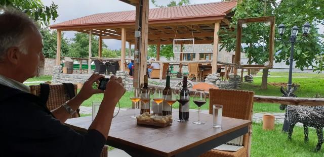 Van Tbilisi: Wine Tour of Telavi en Tsinandali