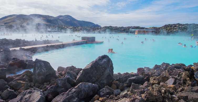 Reykjavik: Golden Circle Day Trip with Blue Lagoon Transfer