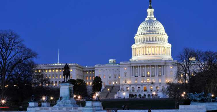 Washington DC: Small-Group 3-Hour Night Tour