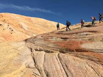 Yellow Rock, Utah: Fortgeschrittene Wanderung