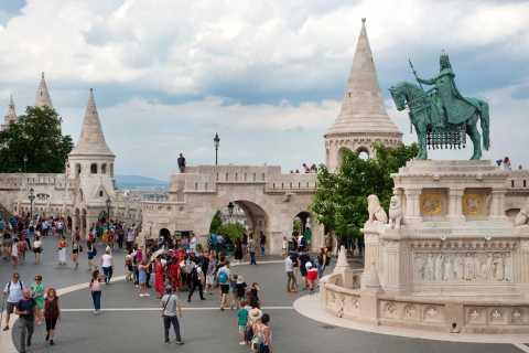 Excursão a pé de 3 horas em Budapeste em italiano