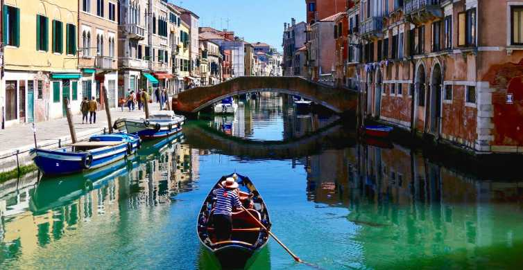 Venice: Guided Evening Walking Tour with Motorboat Ride