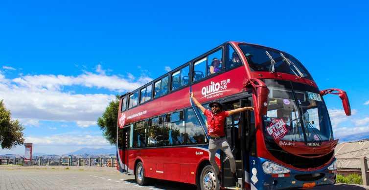 Quito: Circuito Turístico Ônibus Hop-On Hop-Off
